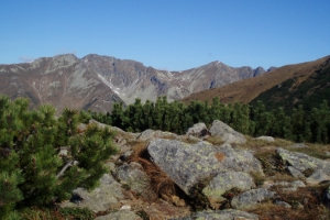 Zprava: Tri kopy, Hrubá kopa, Baníkov a Príslop.