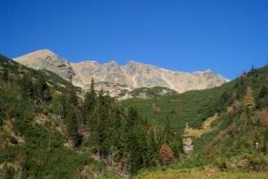 Tri kopy ze Žiarské doliny.